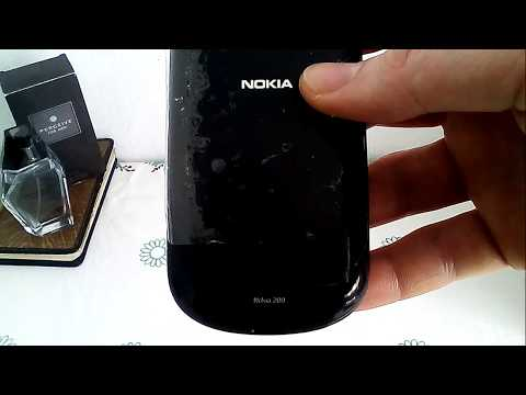 Music Test Nokia Asha 200 Graphite