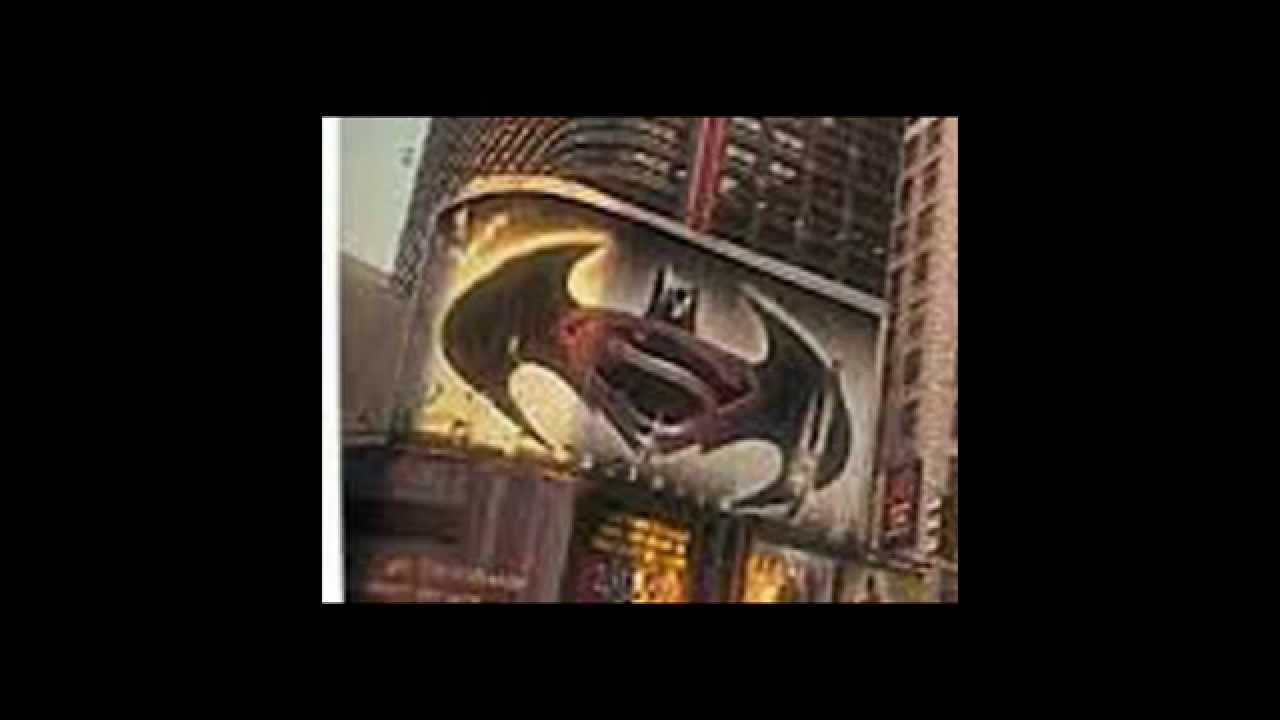 Batman V Superman Logo In I Am LegendKinda