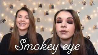 SIMPLE BROWN SMOKEY EYE - eye tutorial Soph x revolution