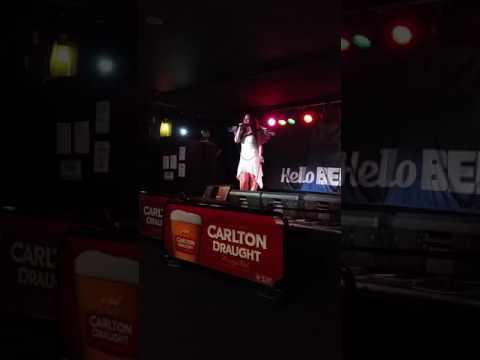 Hotel California - karaoke cover Sienna Mayfair