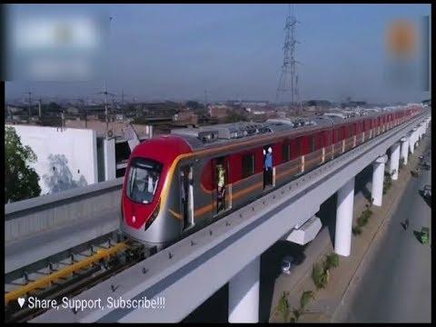 Lahore: Orange line Metro Train ka aazmaishi safar