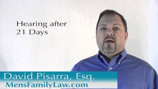 Domestic Violence Restraining Orders explained by Los Angeles Family Law attorney David Pisarra