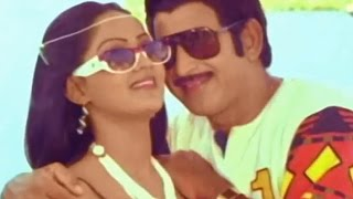 Agniparvatham Movie    Number One Video Song    Krishna,Vijayashanti
