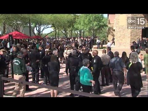 In Memoriam of Officer Glasser  ABC15 Digital