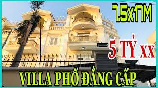 Bán nhà quận 12 Tp.HCM sát bên với quận Gò Vấp khu villa phố đẳng cấp giá rẻ 5 tỷ hơn còn tl.
