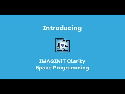 IMAGINiT Clarity Space Programming