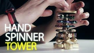 ハンドスピナー神業集 / Fidget Spinner Trick Shots【バカッコイイ】