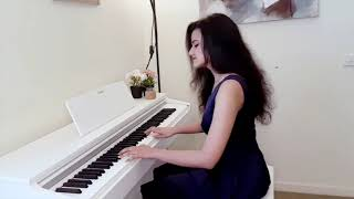 Shubhashree - Main Agar Kahoon (Om Shanti Om) - Piano Cover