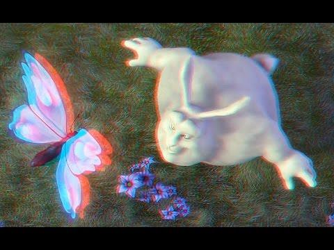 Детский мультфильм в Цифровом 3D Большой Кролик Бак !!!!!!!!!!!