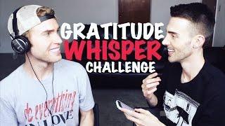 "GRATITUDE ""WHISPER"" CHALLENGE (W/ TRAVIS BRYANT)"