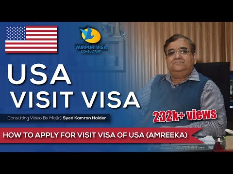 USA Visit Visa - How to apply for a USA Visit Visa
