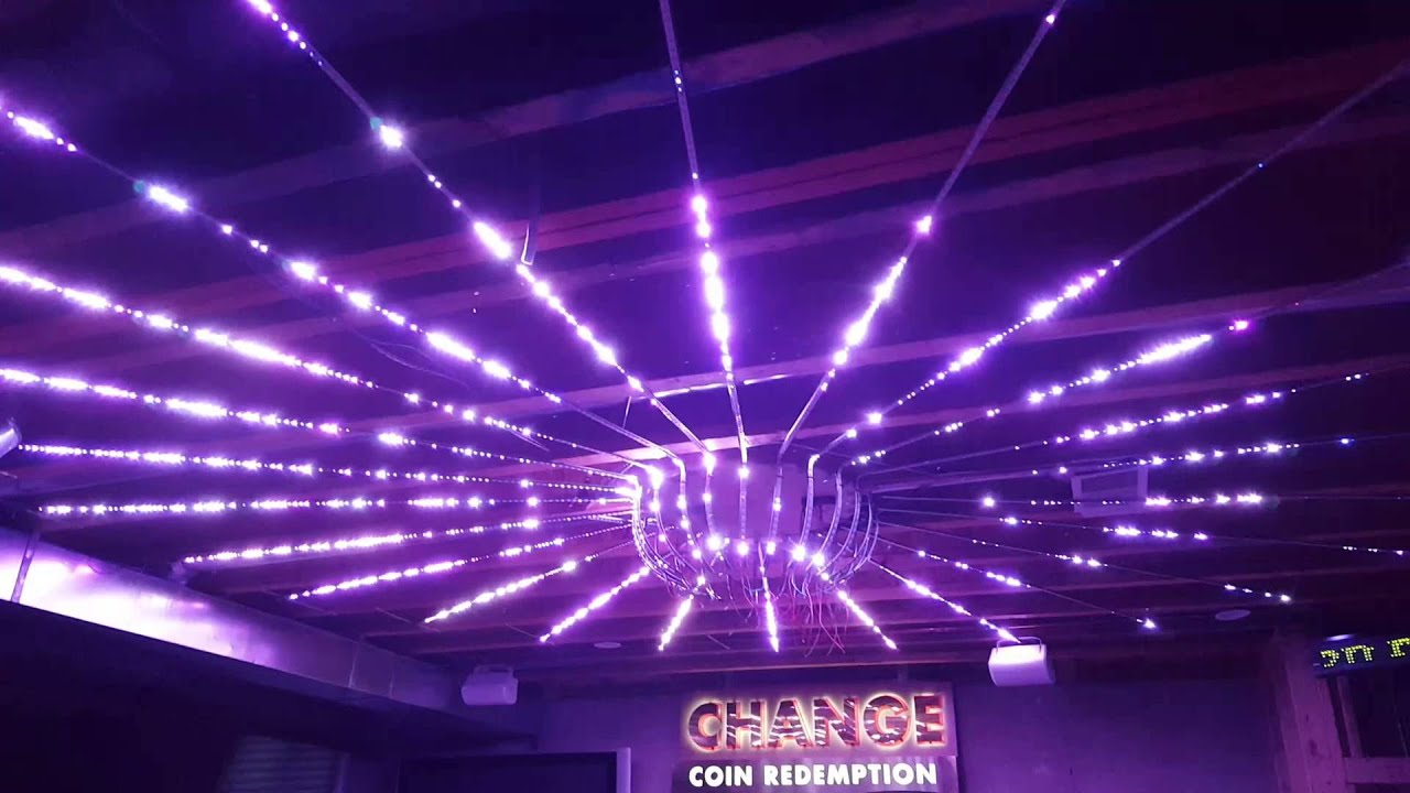 Ws2812b led ceiling installation disco lights youtube aloadofball Image collections