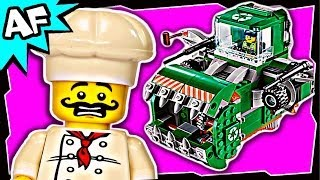 lego movie trash chomper 1 70805 stop motion build review