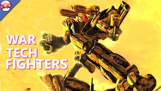 War Tech Fighters Gameplay (PC Game)