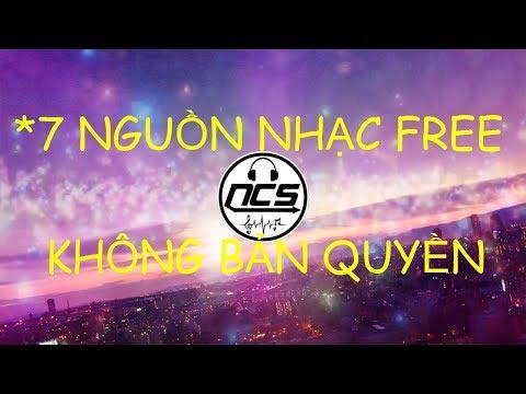 ONLINE- 7 nguồn nhạc miễn phí không bản quyền cho mọi người.