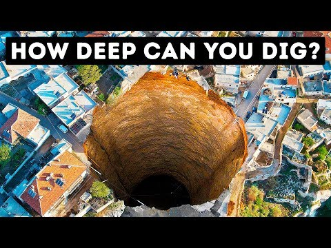 What's the Deepest Hole You Can Possibly Dig?