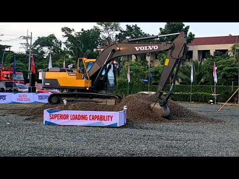 VOLVO EC200D launched in the Philippines