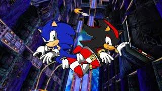 SA2B HD: ~Final Rush~ 2 player Mode ~Sonic vs. Shadow~