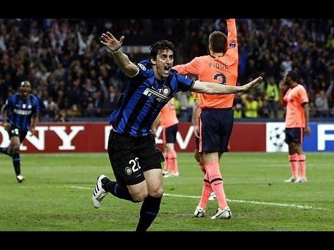 Inter Milan Vs Fc Barcelona 3 1 Highlights English