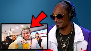 Rappers React To 6IX9INE- PUNANI (Official Music Video)