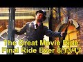 FINAL RIDE EVER of The Great Movie Ride at Disney's Hollywood Studios - Last Car & CM Tribute