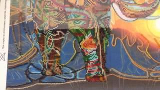 Вышивка бисером. Мозаичный слон от Абрис-Арт. Отчет 1
