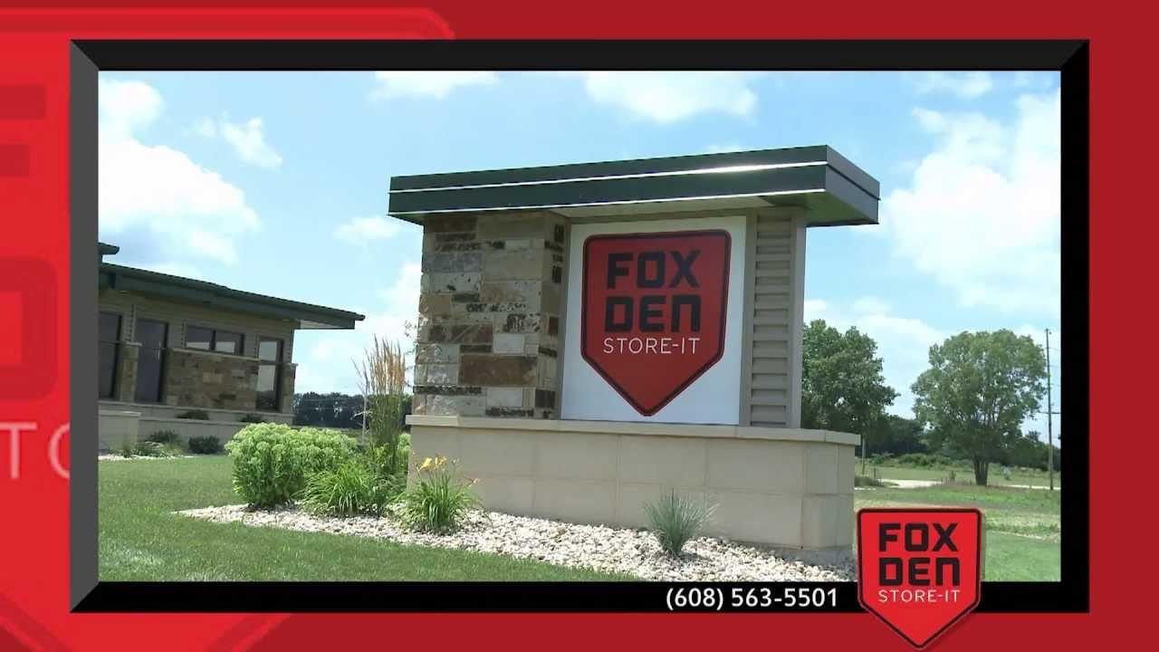 Janesville Self Storage Unit Rentals Virtual Tour | FOX DEN STORE IT Storage  Units