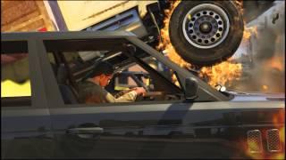 Zombie Cop Shootout (GTA V PC Editor)