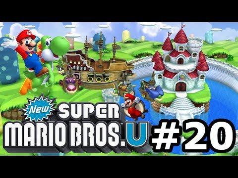 New Super Mario Bros U (Nintendo WiiU) - Ep #20 - Vittoria sudata - Gameplay Ita