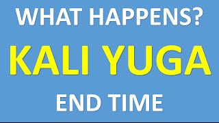 what happends at kali yuga end time thumbnail