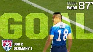 MNT vs. Germany: Bobby Wood Goal - June 10, 2015 thumbnail