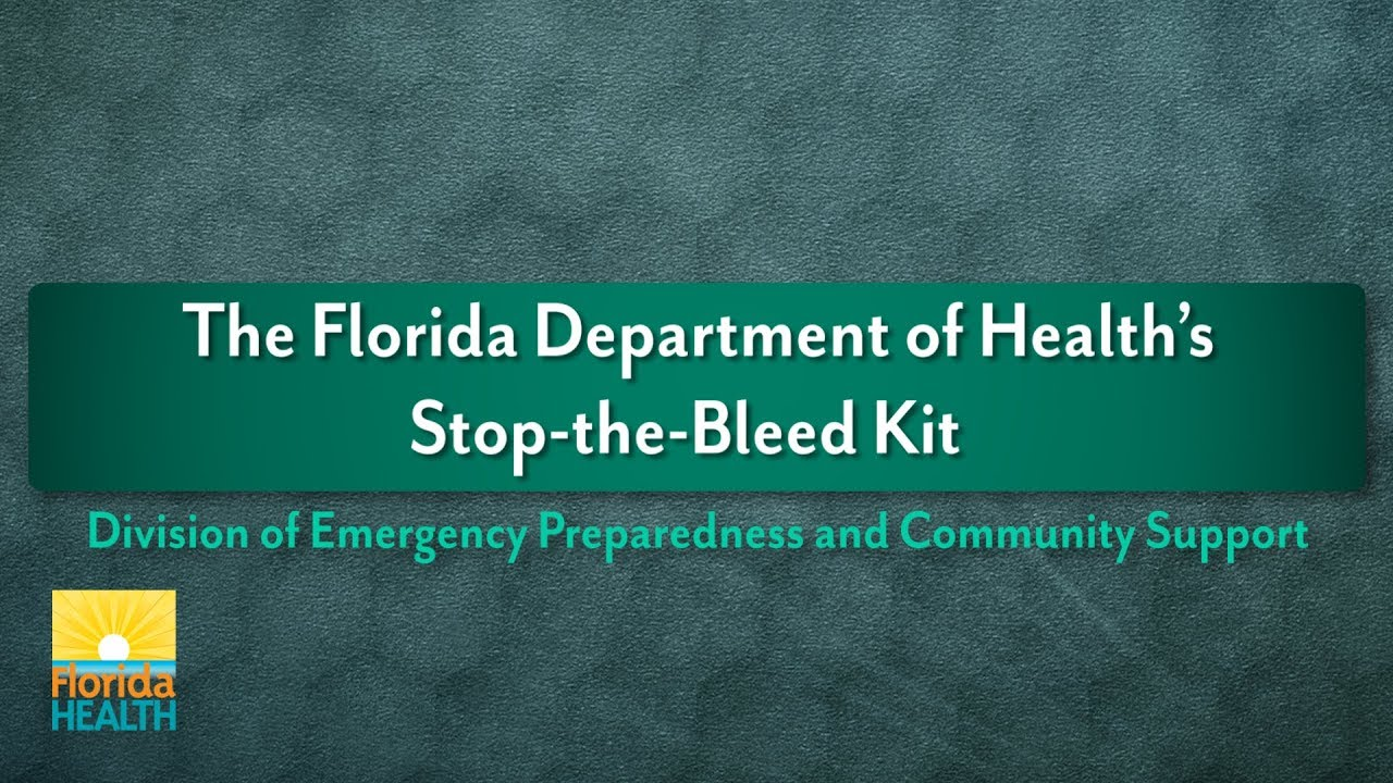 Stop the Bleed | Florida Department of Health