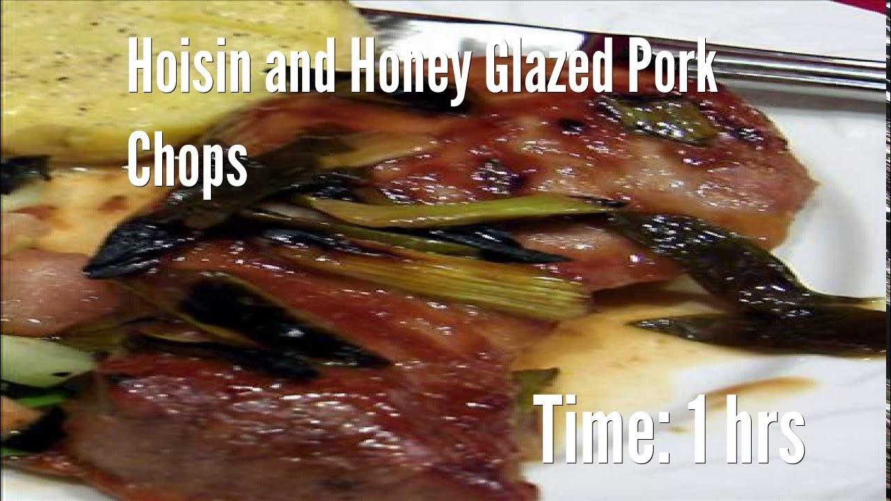 Hoisin and Honey Glazed Pork Chops Recipe - YouTube