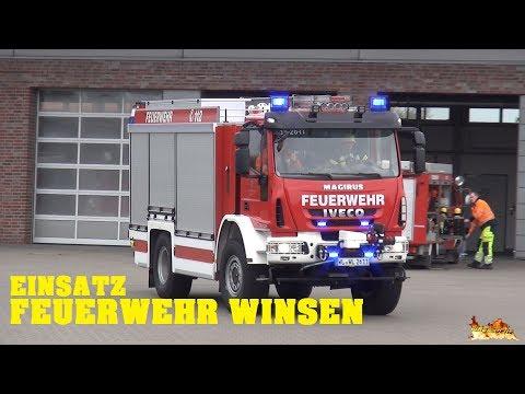 [THL & Gasgeruch] Einsätze Feuerwehr Winsen mit ELW, RW und MZF [+ neues TLF]