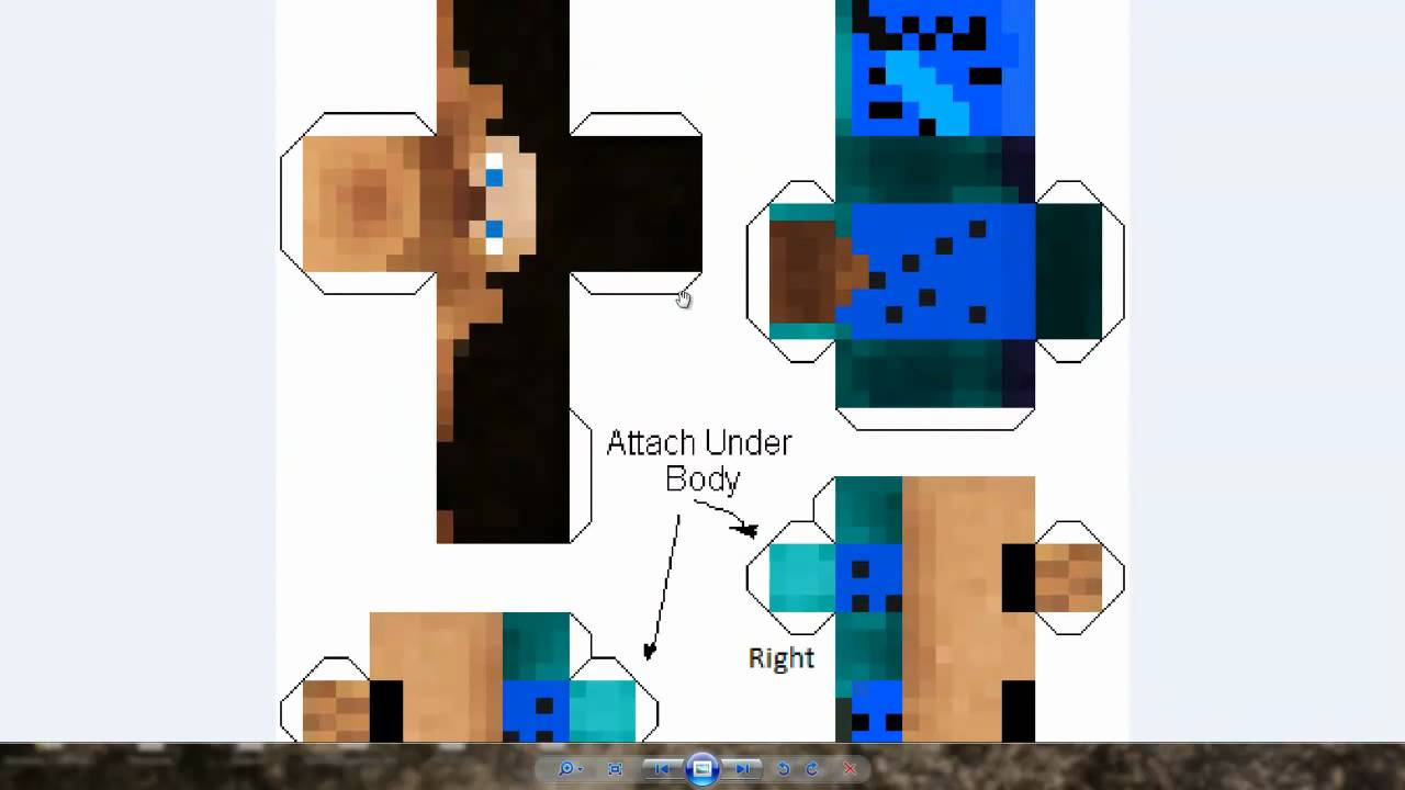 Minecraft Papercraft - Skin Generator Tutorial [Deutsch ...