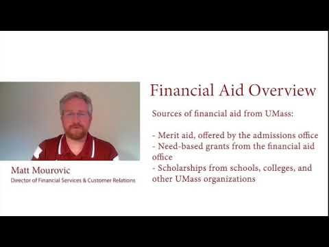 Financial Aid Overview - UMass Amherst Financial Aid FAQ