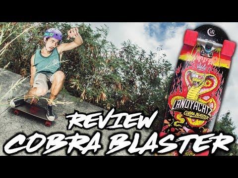 Landyachtz Cobra Blaster Review - Stoked LA Product Thrash