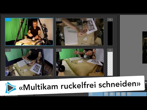 Mulitkam Editor ohne ruckeln bearbeiten Proxy Dateien Pinnacle Studio 20 Deutsch Video Tutorial