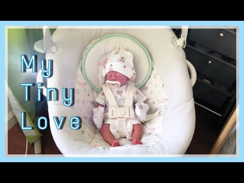 Preemie Silicone Doll Gets an Outfit Change!