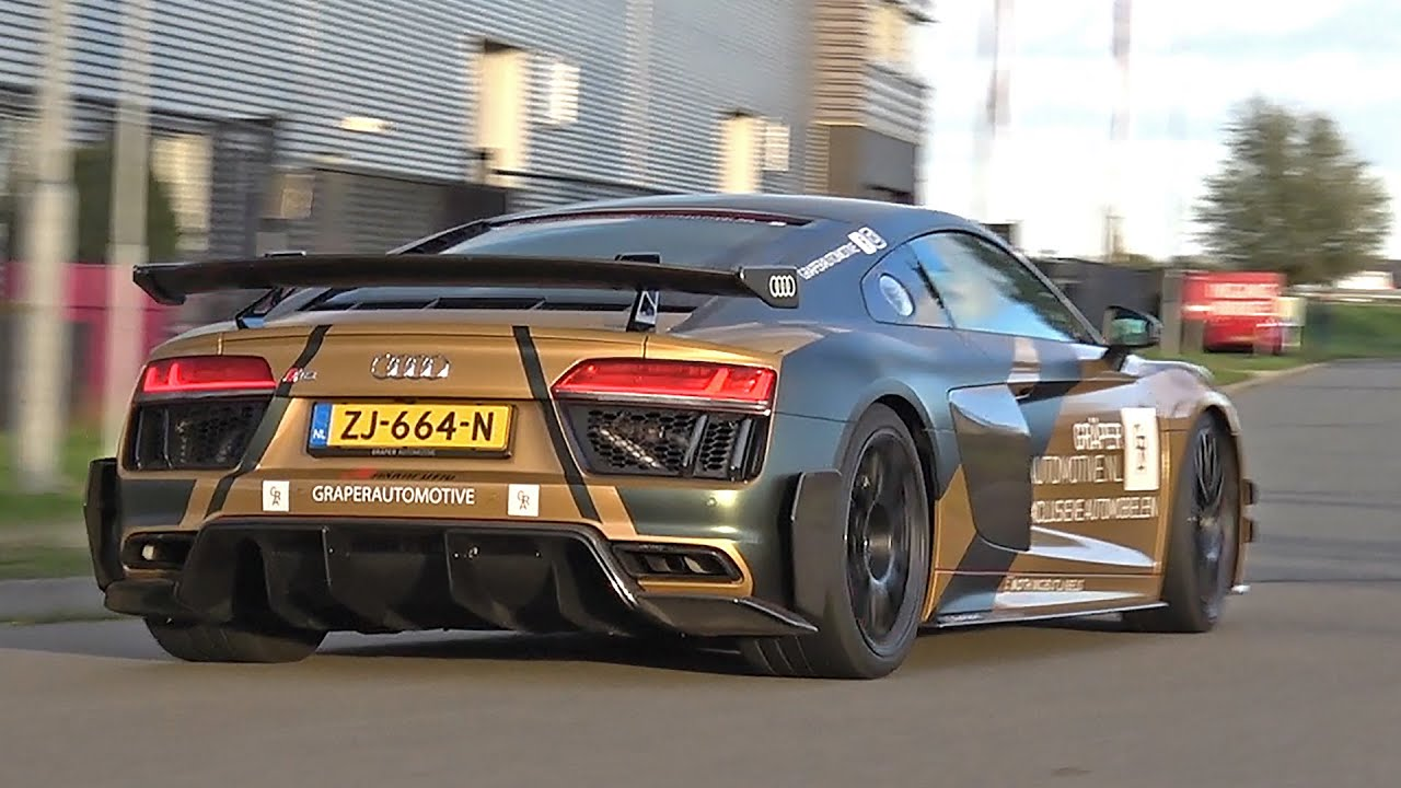 Audi R8 V10 Plus Performance Parts 1 of 44 - Lovely Accelerations!