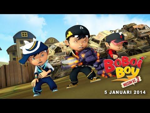 Trailer Musim Ke-3 BoBoiBoy