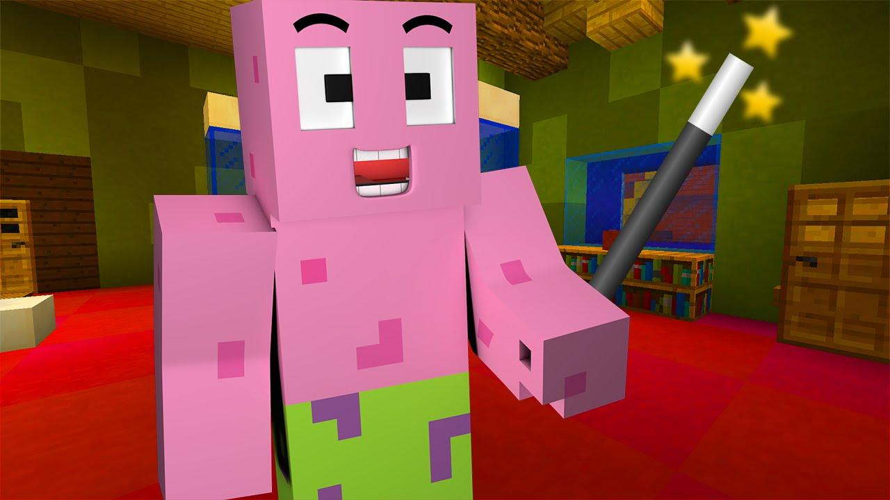 Minecraft   Spongebob Episode 10 - Squidward Is Gone  Minecraft Roleplay