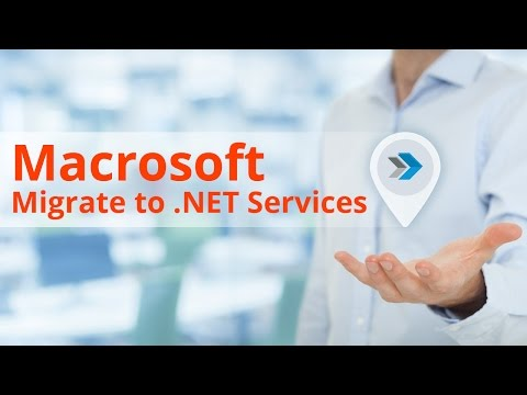 Macrosoft's Migrate to .NET Services & Team Structure