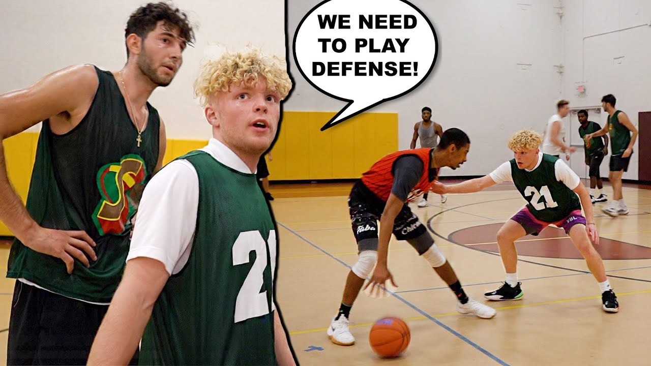 They Blew Us Out BAD... 5v5 Men's League Basketball!