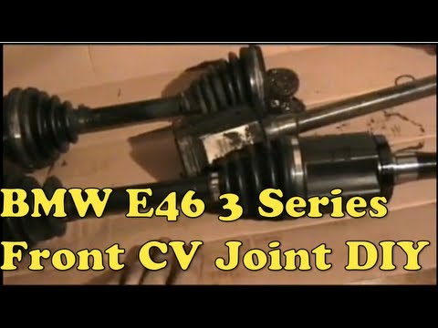 BMW Axle Replacement (E-46 AWD FRONT Axle) - MillerTimeBMW - DIY 7