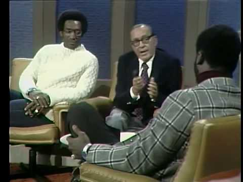 Frazier & Cosby discuss boxing strategy