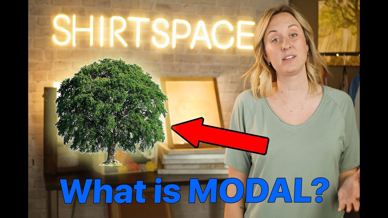 What is Modal? Learn more about apparel and t-shirts.