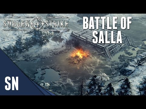 BATTLE OF SALLA! - Sudden strike 4 - Finnish Campaign #2 [SOVIET]