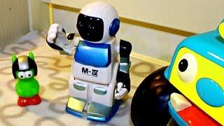Мультики про машинки - Домашний патруль - Робот потерял руку