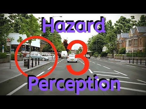 NEW 2020 CGI Hazard Perception Test | This Is What ALL Hazard Perception Tests Are Like.